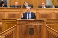 Juan Alfonso Ruiz Molina interviene en las Cortes Regionales