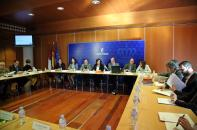 La consejera de Economía, Empresas y Empleo, Patricia Franco, ha presidido hoy el acto de constitución de la mesa de trabajo de Promoción Económica y Empresarial