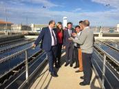 El Gobierno regional y el presidente de la Mancomunidad de Aguas del Sorbe se reúnen para asegurar el abastecimiento de agua