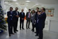 Visita a las instalaciones del Grupo Farmacéutico Chemo, en Azuqueca de Henares (Guadalajara)