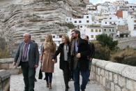 La consejera de Fomento visita Cenizate, Alcalá del Júcar y Hellin