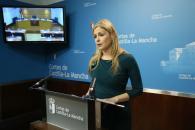 """La consejera de Fomento califica de """"escandaloso"""" el caso Acuamed y pide al nuevo Gobierno de España transparencia en la gestión del agua"""