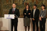 El presidente García-Page anuncia un nuevo campus de la Universidad de Alcalá de Henares en el centro de Guadalajara y dos nuevas titulaciones
