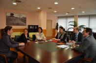 El Gobierno regional valora posibles líneas de colaboración con Banco Sabadell para la financiación e internacionalización de empresas