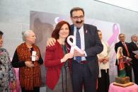 El consejero de Sanidad, durante su intervención en la entrega de premios