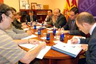 Martínez Guijarro en reunión preparatoria de la Inversión Territorial Integrada