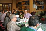 Reunión en la Consejerái de Agricultura para analizar las ayudas FOCAL
