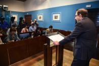 El consejero de Sanidad comparece en la Comisión Parlamentaria de Economía y Presupuestos