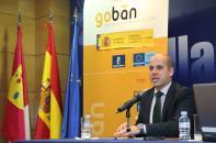 Javier Rosell en la presentación del proyecto 'GOBAN Academy'