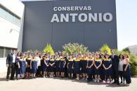 """Visita a las instalaciones de la fábrica de """"Conservas Manchegas Antonio, S.L"""""""