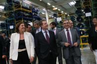 "Inauguración del centro de distribución ""Michelín"" en Illescas"