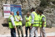 El Gobierno regional anuncia la finalización de las obras de acondicionamiento de la carretera Nerpio-Beg (Albacete) en el presente año 2017
