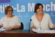 La consejera de Economía, Empresas y Empleo ofrece una rueda de prensa en la Delegación de la Junta de Ciudad Real para hacer balance del Plan de Empleo