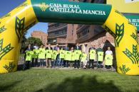 El director general de Juventud y Deportes, Juan Ramón Amores, asiste a la presentación de la V Carrera Solidaria de la Fundación Caja Rural Castilla-La Mancha