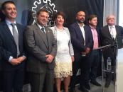 Acto de inauguración del Salón de Cuchillerías y entrega de los premios del XXXVII Concurso Castilla-La Mancha de Cuchillería