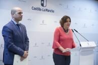 La consejera de Economía, Empresas y Empleo, Patricia Franco presenta los II Premios al Mérito Empresarial