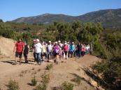Unas 500 personas mayores han participado en las tres primeras 'Rutas Senderistas' del Marco de Envejecimiento Activo del Gobierno regional