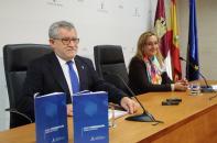 Ángel Felpeto, durante la presentación del Plan de Formación del Profesorado de Castilla-La Mancha