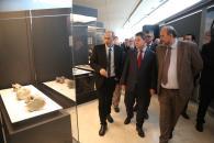 Inauguración de la tercera fase del Museo de Paleontología