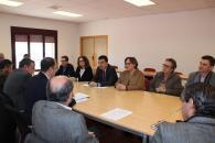 El consejero de Agricultura, Medio Ambiente y Desarrollo Rural, Francisco Martínez Arroyo, ha asistido a la asamblea de la Asociación Empresarial Vitivinícola de Castilla-La Mancha