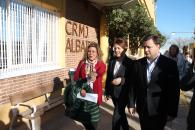 La consejera de Bienestar Social, Aurelia Sánchez, clausura el curso de formación del Centro Regional de Menores y Adolescentes 'Albaidel'.
