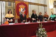 El consejero de Educación, Cultura y Deportes, Ángel Felpeto, durante el acto académico de investidura de Gregorio Marañón como Doctor Honoris Causa por la Universidad de Castilla-La Mancha