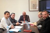 García Molina se reúne con el Teatro de la Sensación y la Red de Teatros Alternativos