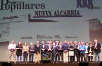 El consejero de Agricultura, Medio Ambiente y Desarrollo Rural, Francisco Martínez Arroyo asiste a la XXX Edición de la Gala de Entrega de Premios Populares