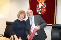Ruiz Santos en las Jornadas en la Facultad de Relaciones Laborales