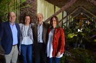 La consejera de Economía, Empresas y Empleo, Patricia Franco, durante su visita a Piedrabuena (Ciudad Real)