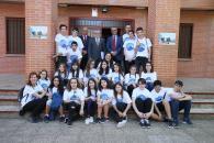 El consejero de Educación, Cultura y Deportes, Ángel Felpeto, participa en la clausura de la II Muestra de Teatro Escolar 'Princesa Galiana'