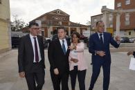 Presentación de la puesta en marcha del anillo perimetral y del nuevo depósito de Santa Marina en Tarancón