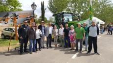 Inauguración de la I Feria de la Maquinaria Agrícola de Casas Ibáñez