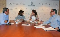 El Gobierno de Castilla-La Mancha se reúne con el CERMI para abordar las novedades de Atención Temprana en la región