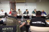 El consejero de Agricultura, Medio Ambiente y Desarrollo Rural, Francisco Martínez Arroyo, preside la reunión regional del Comité Asesor Operativo Regional del Plan INFOCAM
