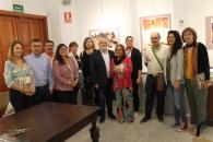 """Inauguración de la exposición de Pedro Román, """"Alcaraz con vistas al tiempo"""""""