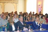 El consejero de Sanidad en funciones, Jesús Fernández Sanz, preside la inauguración del XVI Congreso Nacional de Documentación Médica, en el Hotel Beatriz.