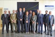La consejera de Economía, Empresas y Empleo en funciones, Patricia Franco, asiste a la constitución del Pleno del Consejo Regional de Cámaras de Castilla-La Mancha