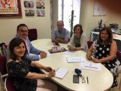Reunión del Instituto de la Mujer de CLM y la Asociación de Empresarios de Campollano (ADECA)