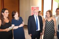 Inauguración de la exposición V Muestra de Arte de Mujeres y Premios Amalia Avia