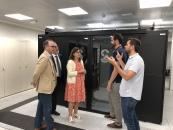 El Gobierno de Castilla-La Mancha incrementa la capacidad de alojamiento del Centro de Procesamiento de Datos del SESCAM
