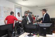 Visita el Centro de Coordinación Operativa Regional de Incendios