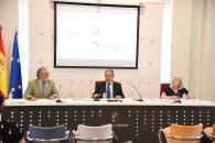 El consejero de Hacienda y Administraciones Públicas, Juan Alfonso Ruiz Molina, informa, en una rueda de prensa en la Consejería, sobre la Oferta de Empleo Público de Administración General de 2017 y 2018