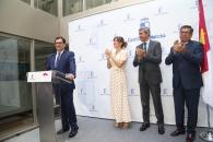 """El delegado de la Junta adquiere el """"el firme compromiso"""" de trabajar para el progreso económico y social de Toledo, con """"la cercanía, la solidaridad y la igualdad"""" como señas de identidad"""