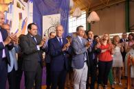 El consejero de Agricultura, Agua y Desarrollo Rural, Francisco Martínez Arroyo, inaugura la XLVII Feria Internacional del Ajo (FIDA)