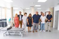 La nueva sala de fisioterapia del Centro de Salud de Villafranca de los Caballeros ha realizado unas 600 sesiones de rehabilitación desde su puesta en funcionamiento