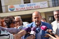 El vicepresidente del Gobierno de Castilla-La Mancha, José Luis Martínez Guijarro visita la zona de los embalses de Entrepeñas y Buendía
