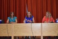 Reunión Consejera Educación, Cultura y Deportes con la delegada provincial de Cuenca