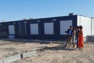 El Gobierno regional supervisa la instalación de las aulas provisionales del nuevo Instituto de Olías del Rey que comienza a funcionar a partir de este curso