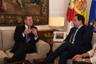 Reunión con el presidente del Partido Popular de CLM